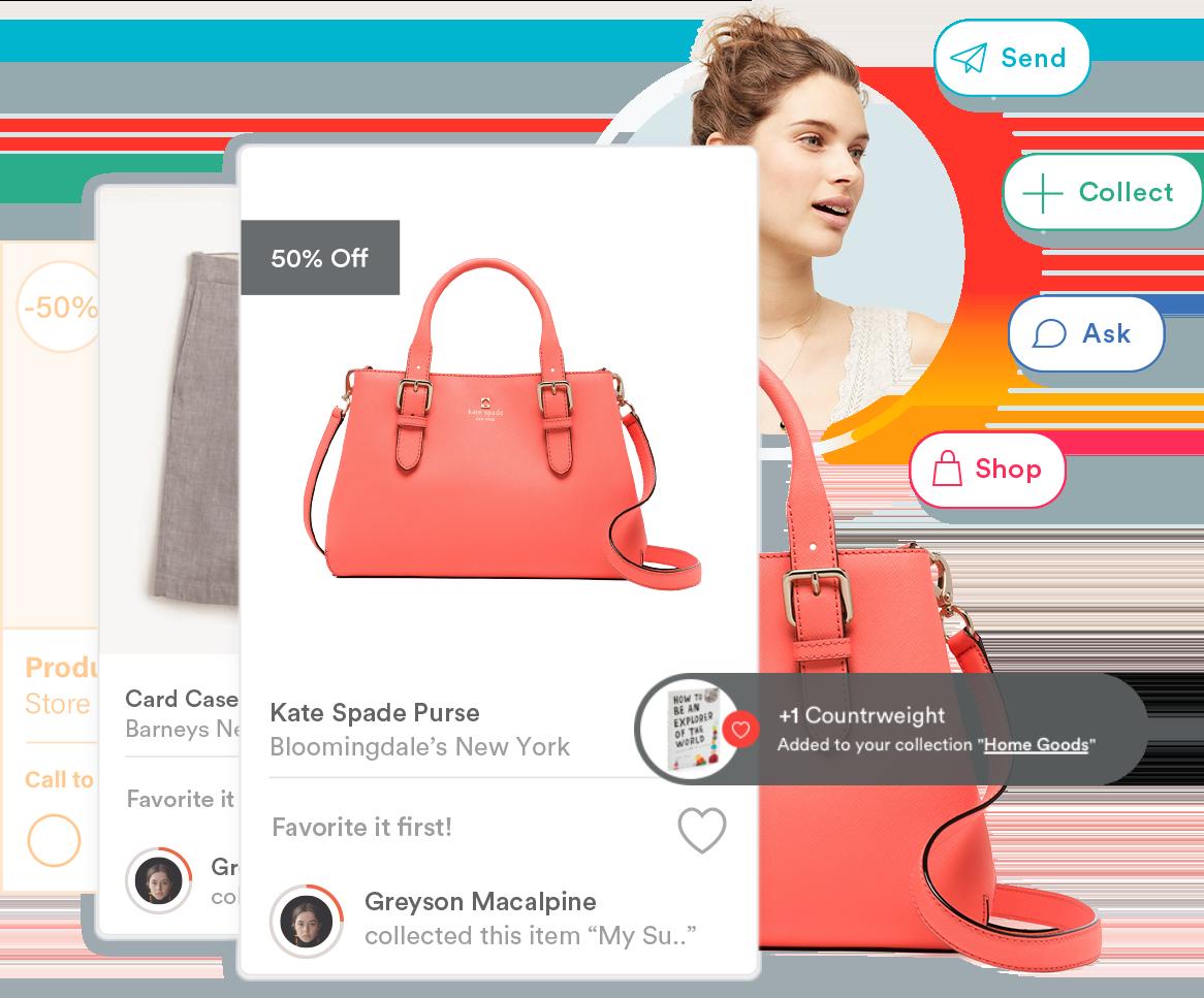 MojoTech UI design for client Countr